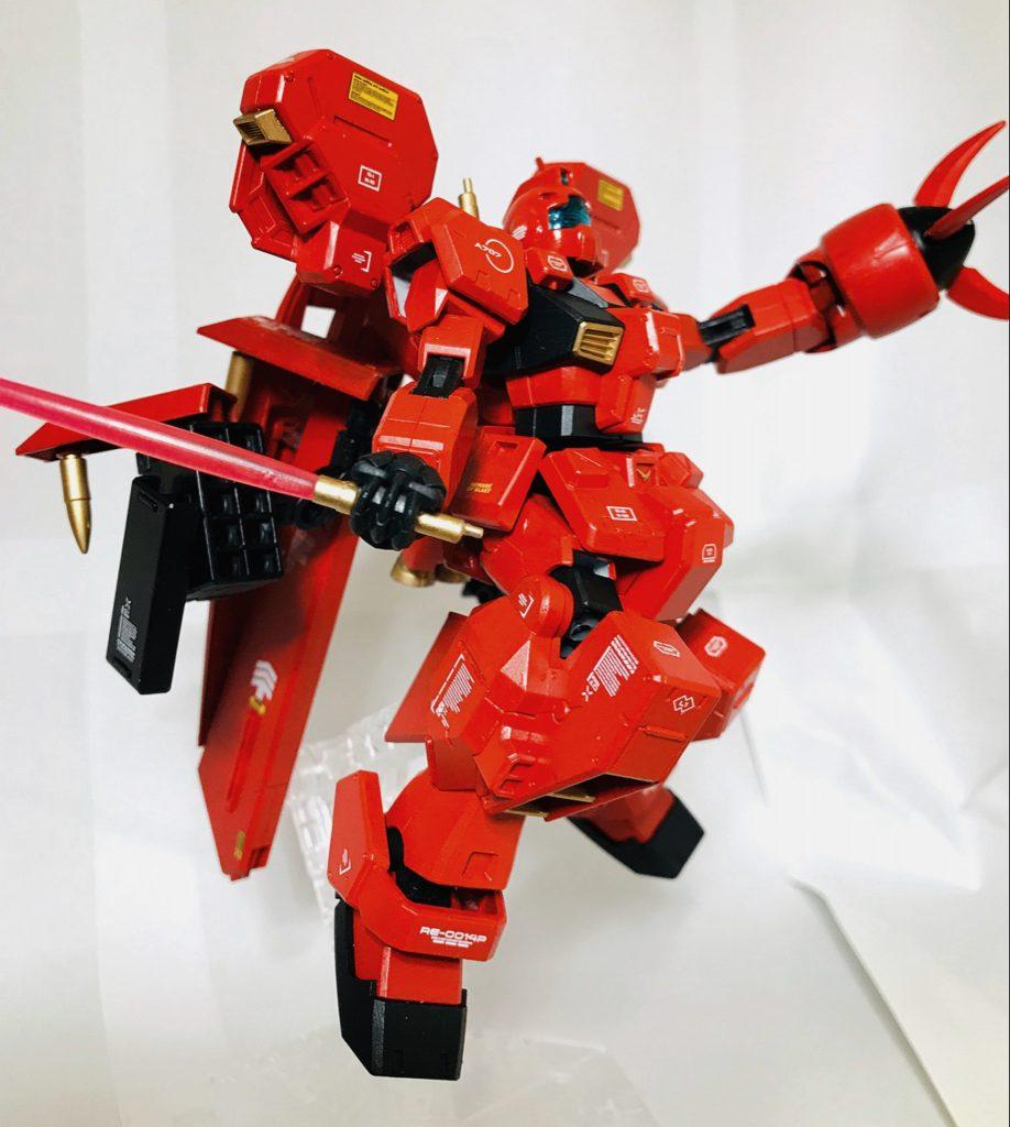 【HG】RX-121-00 RGM TR-1 【michibon CUSTOM】 制作工程2