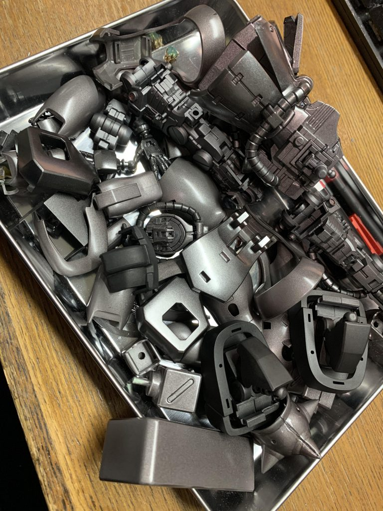 ザクⅡ F2型 制作工程1