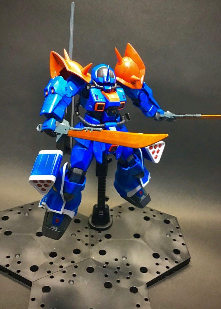 斬れないなら叩き潰すジオンの騎士 アピールショット3