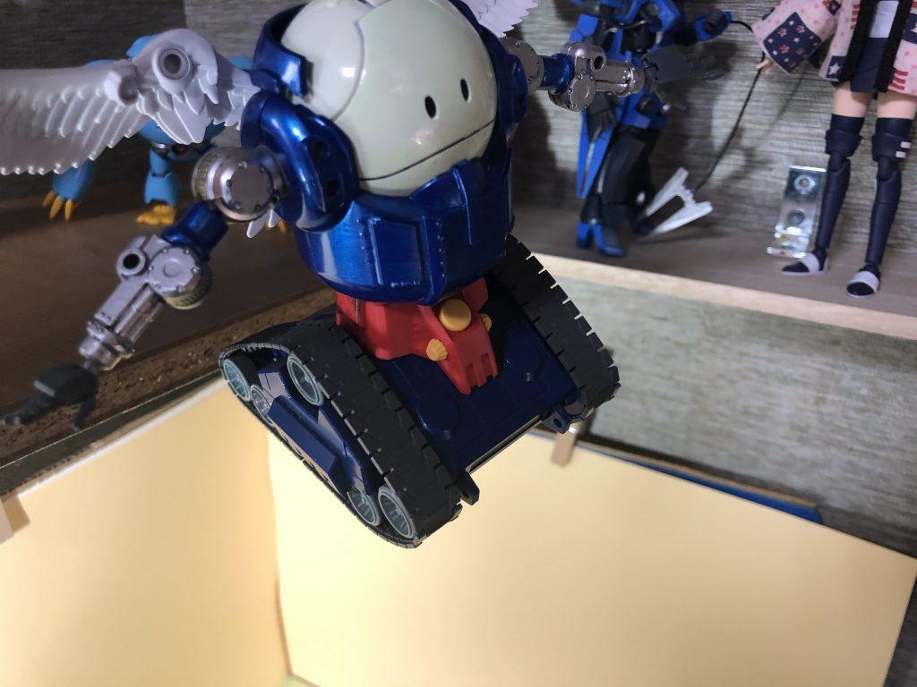 ハロタンク、おおぞらをとぶ 制作工程1