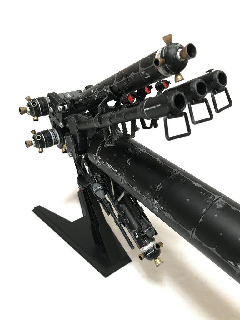 MG  サイコザクver.KA ウェザリング 制作工程3