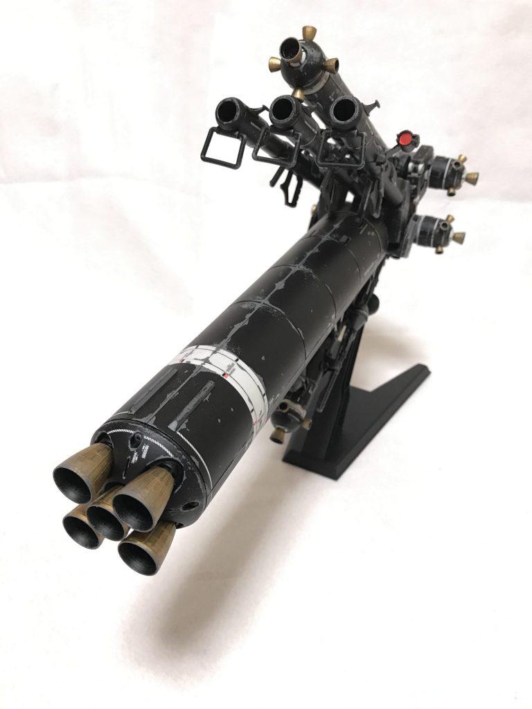 MG  サイコザクver.KA ウェザリング 制作工程4