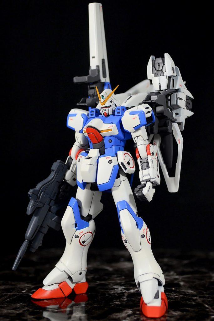 HG1/144 セカンドV アピールショット1