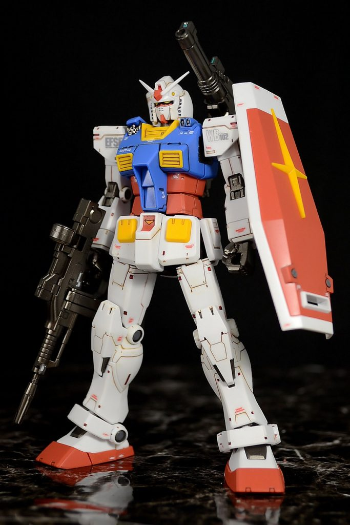 HG RX-78-02ガンダム(GUNDAM THE ORIGIN版) アピールショット1