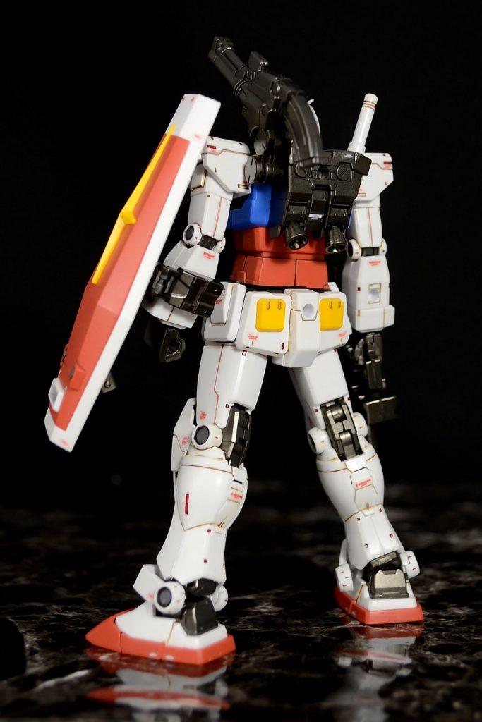 HG RX-78-02ガンダム(GUNDAM THE ORIGIN版) アピールショット2