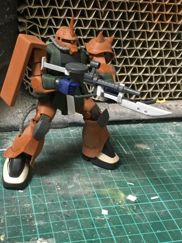 ザクⅡFS型 制作工程3