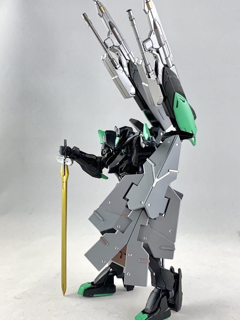 ASW-G-01/E ガンダムバエル・エラー 制作工程4