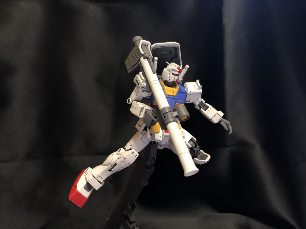 HG オリジン版ガンダム アピールショット6