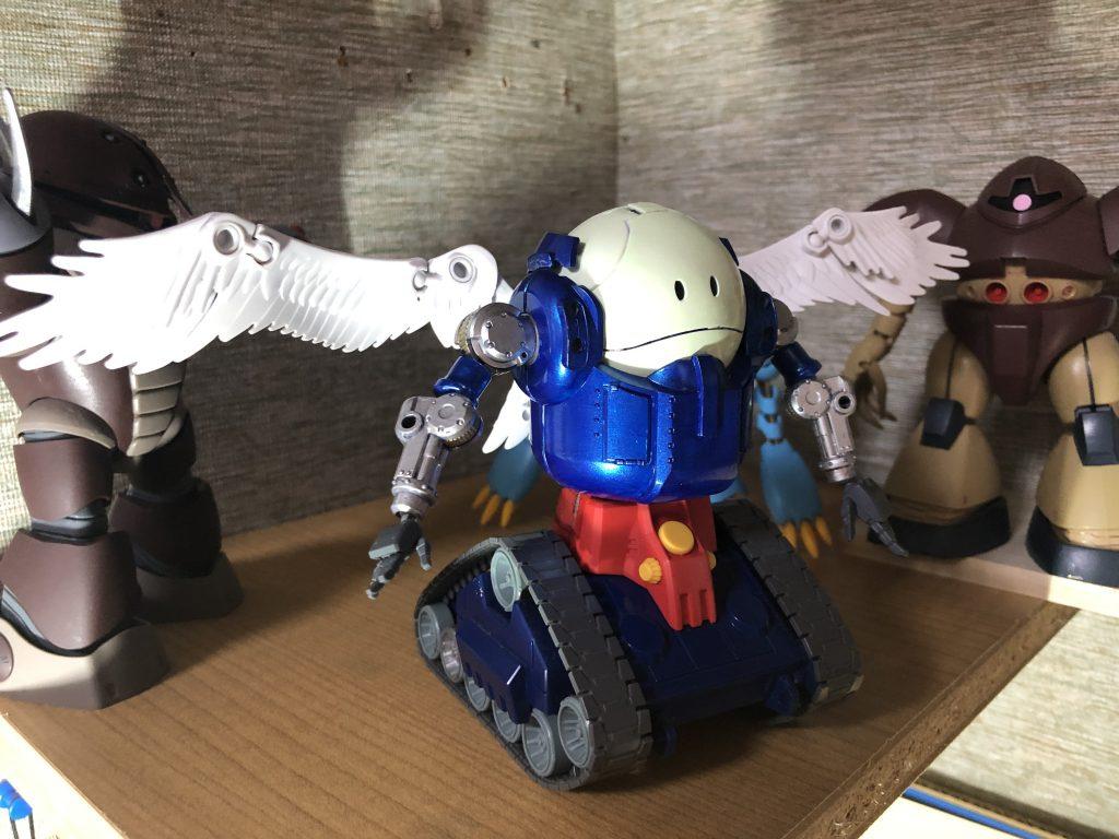 ハロタンク、おおぞらをとぶ アピールショット3