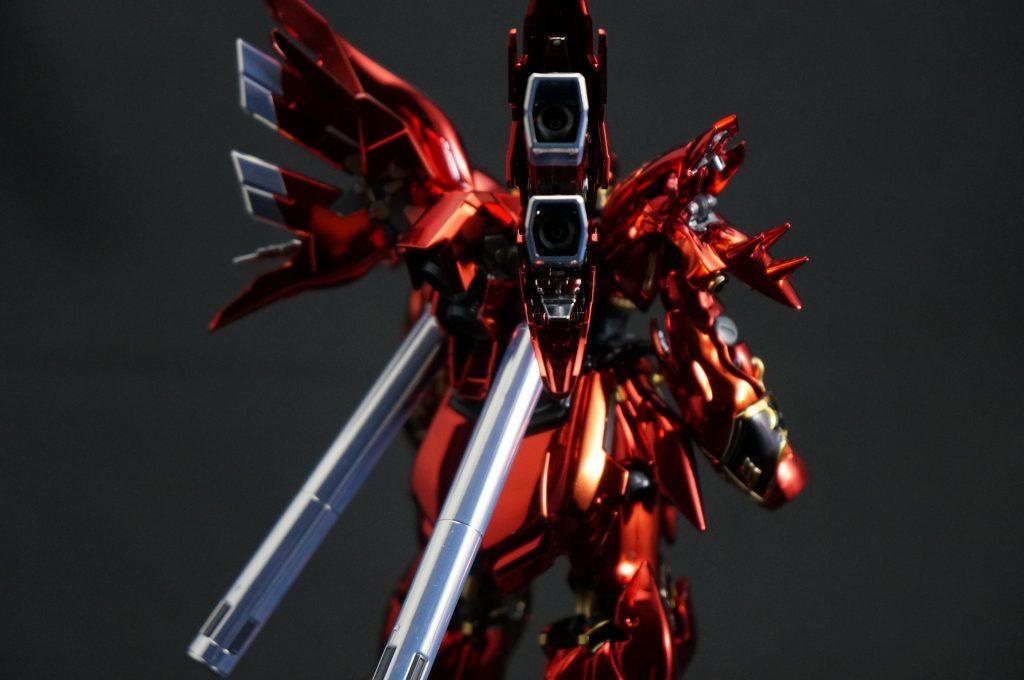 【メッキ加工】RG シナンジュ UC ガンダム ユニコーン アピールショット3