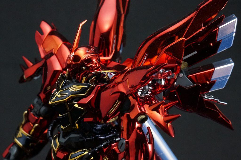 【メッキ加工】RG シナンジュ UC ガンダム ユニコーン