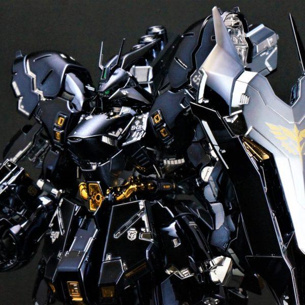 【メッキ加工】RG サザビー ブラックメッキver. 漆黒 逆襲のシャア ガンダム