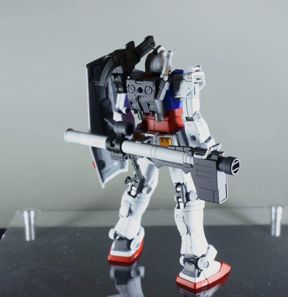 HG RX78-02 ガンダム(オリジン版) アピールショット2