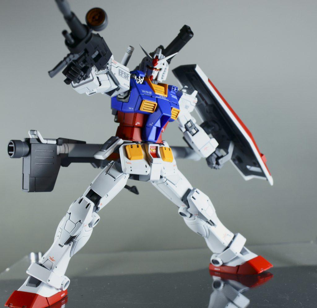 HG RX78-02 ガンダム(オリジン版) アピールショット4
