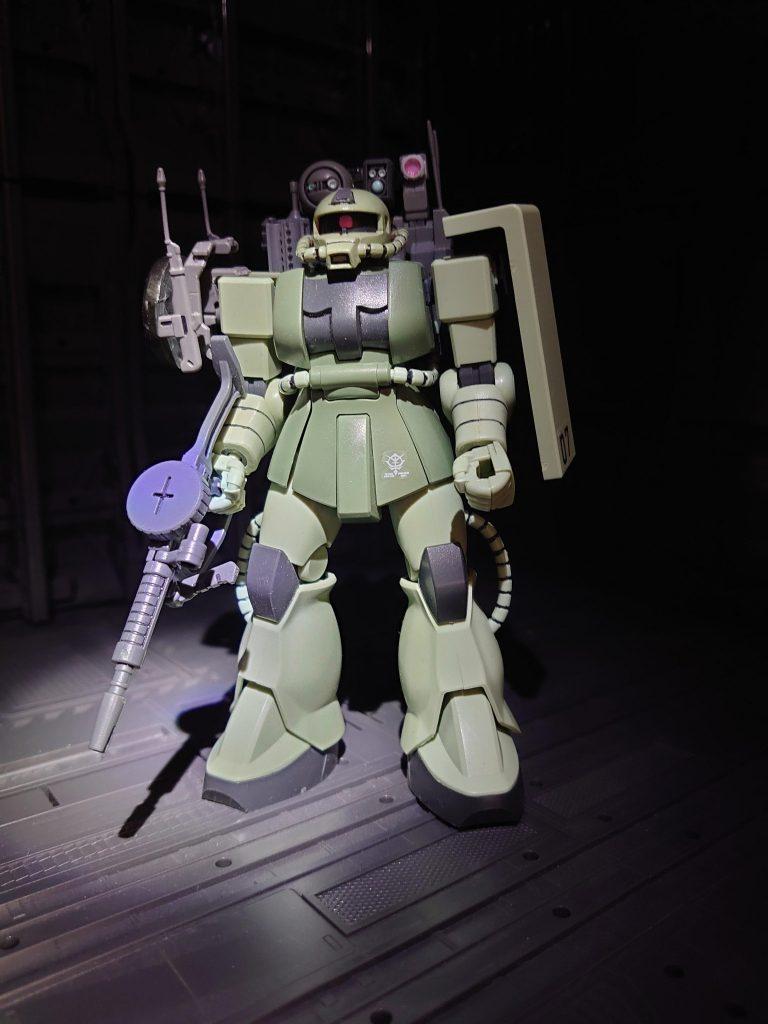 ザクウォッチャー(索敵偵察通信強化仕様) アピールショット1