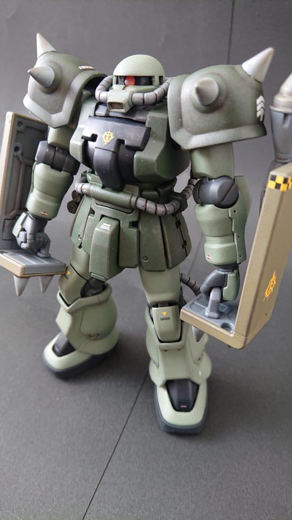 hgucザクⅡF2(近接格闘仕様) アピールショット5