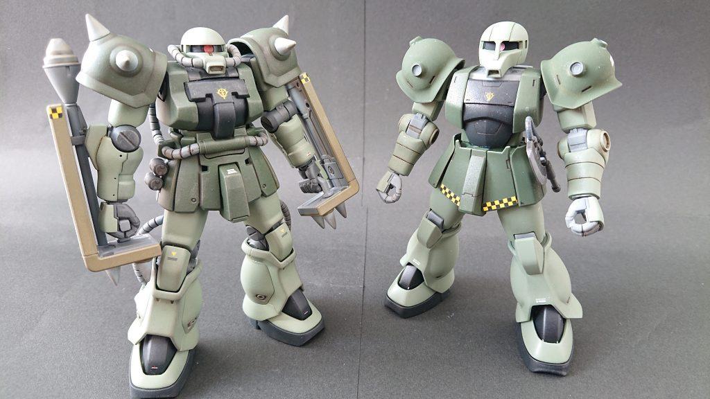 hgucザクⅡF2(近接格闘仕様) アピールショット7
