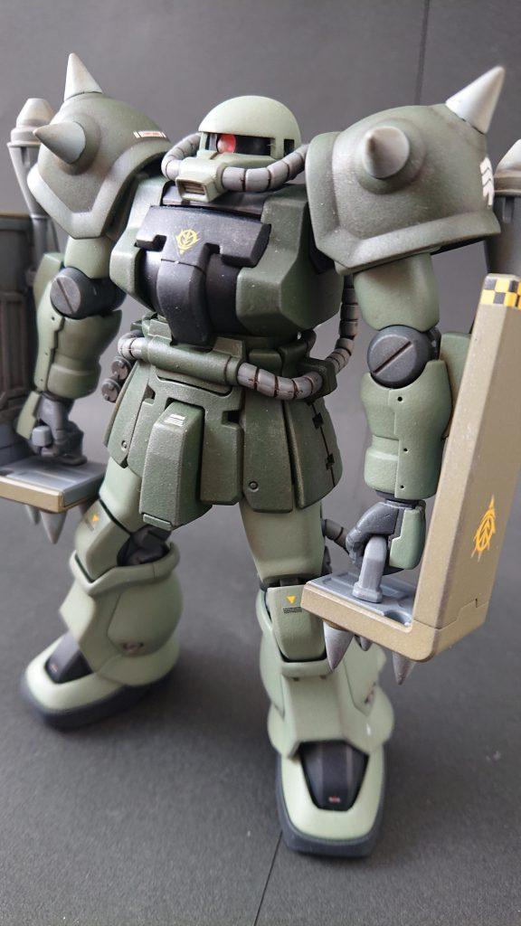 hgucザクⅡF2(近接格闘仕様)