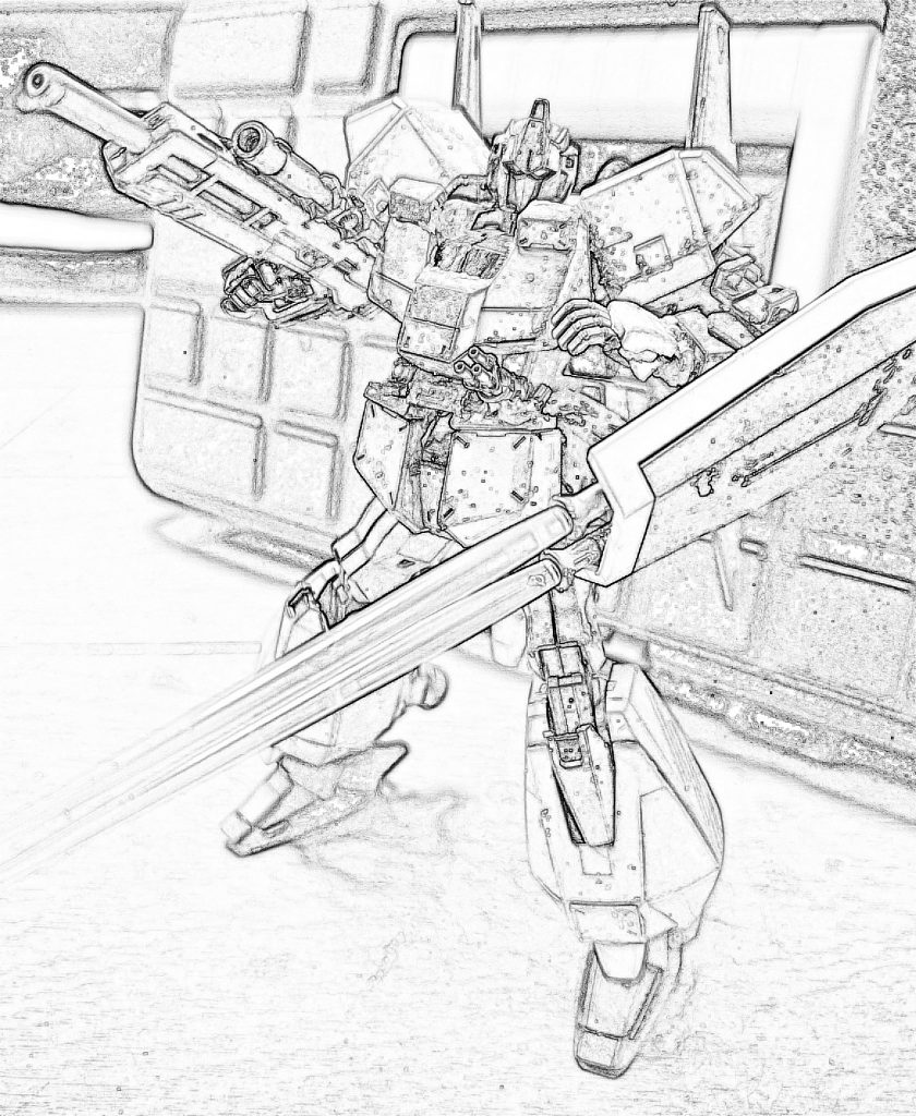 百式 弐型:決戦仕様シャア専用機 制作工程3