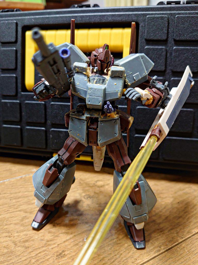 百式 弐型:決戦仕様シャア専用機 制作工程1