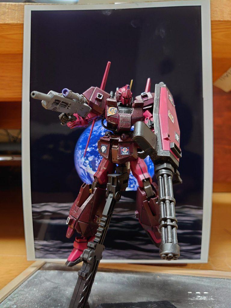 百式 弐型:決戦仕様シャア専用機 制作工程6