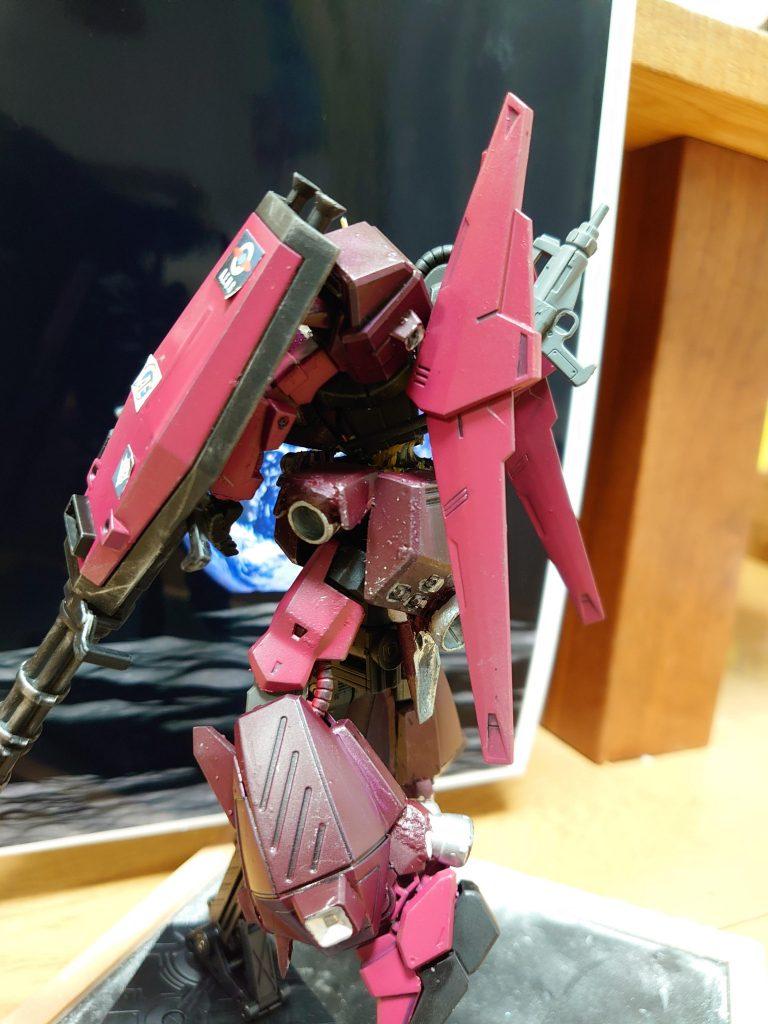 百式 弐型:決戦仕様シャア専用機 制作工程8
