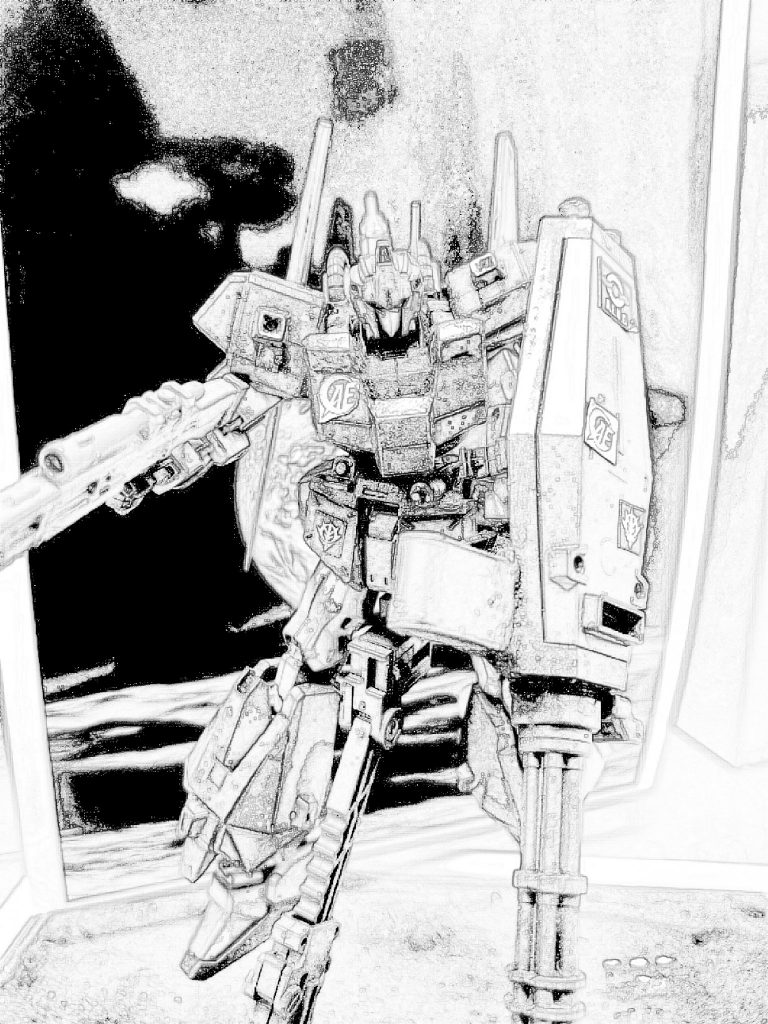 百式 弐型:決戦仕様シャア専用機 制作工程5