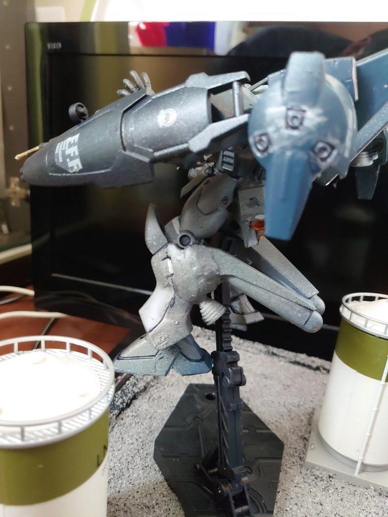 バイアラン フェイス:α任務部隊所属:空間戦闘試作機 アピールショット5