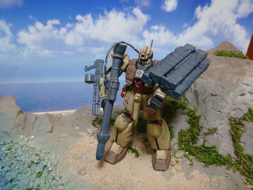 ジム・ズィ  GIM'Z:拠点破壊用ミサイル搭載機 アピールショット5