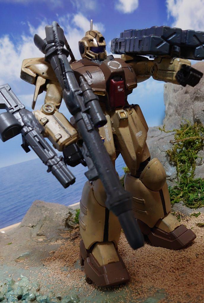 ジム・ズィ  GIM'Z:拠点破壊用ミサイル搭載機 アピールショット3