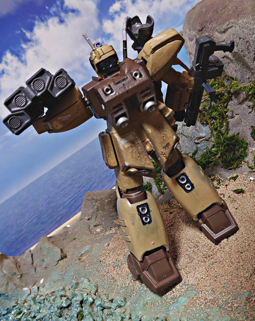 ジム・ズィ  GIM'Z:拠点破壊用ミサイル搭載機 アピールショット4