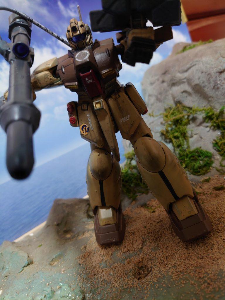 ジム・ズィ  GIM'Z:拠点破壊用ミサイル搭載機 アピールショット6
