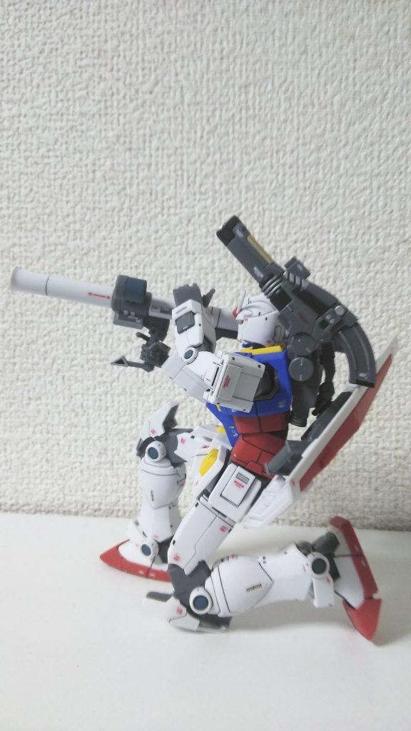 HG RX-78-2 GUNDAM THE ORIGIN アピールショット3