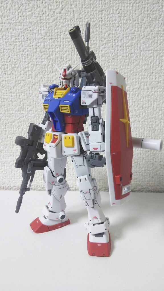 HG RX-78-2 GUNDAM THE ORIGIN