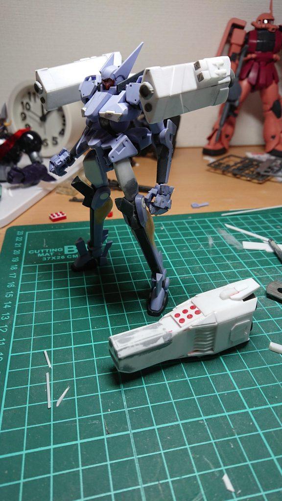 ユニオン・フラッグ【ハワード専用カスタム】 制作工程2