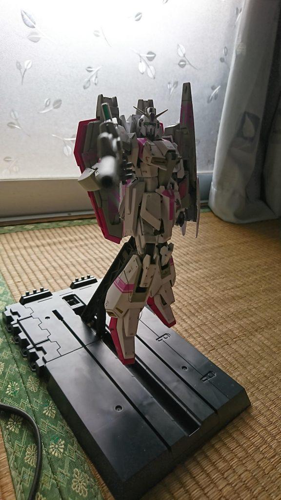 MGゼータガンダム3号機ホワイトユニコーン! アピールショット4