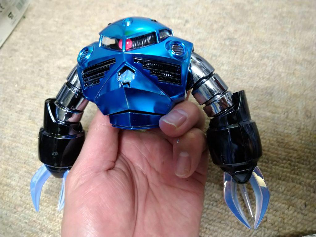 MG量産型ズゴック【フルメッキ】 制作工程7