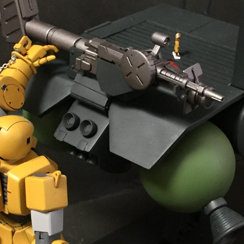 ザクⅡFS型 制作工程8
