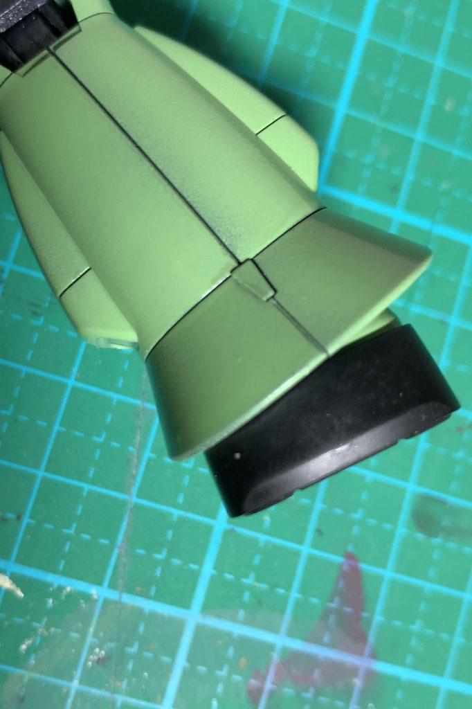 MS-07 グフ ジオン本国防衛隊所属機 制作工程2