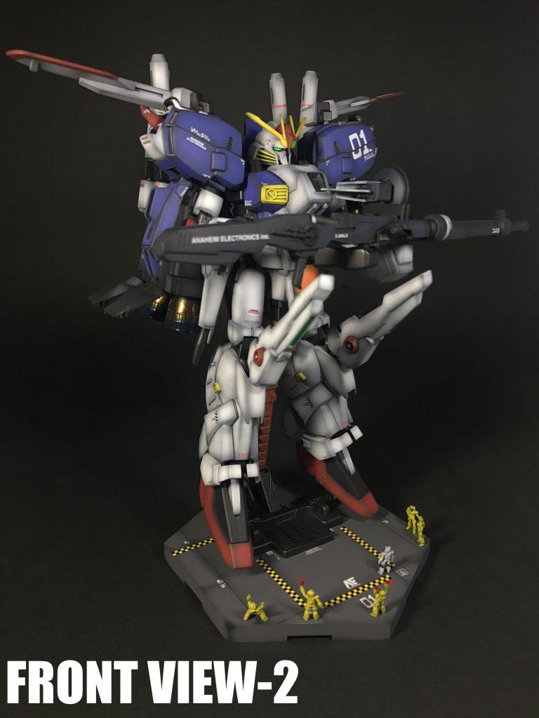 MSA-0011〔Ext〕Ex-Sガンダム+MSハンガーヴィネット アピールショット3
