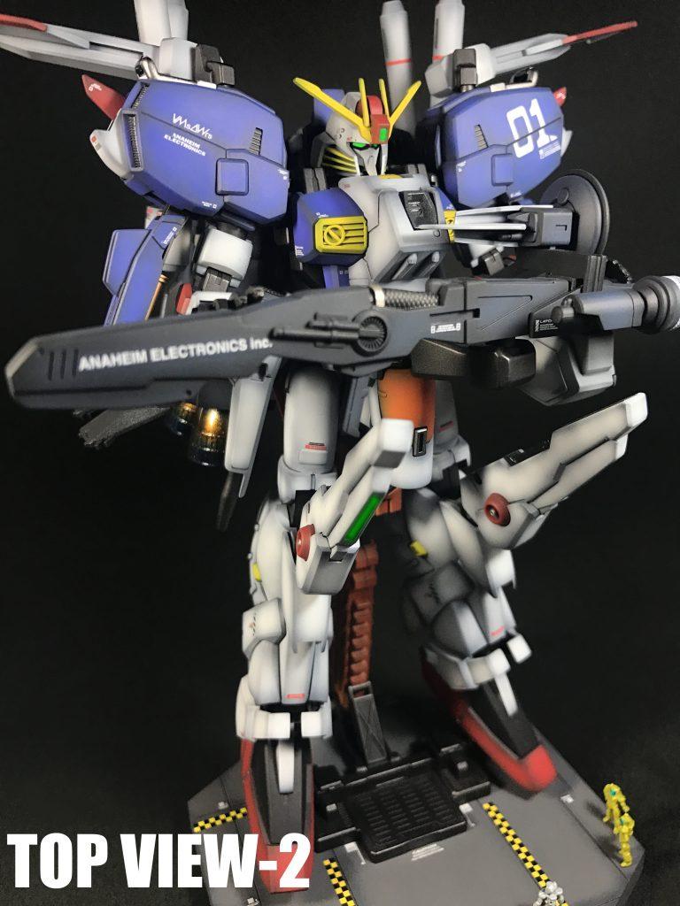MSA-0011〔Ext〕Ex-Sガンダム+MSハンガーヴィネット アピールショット5