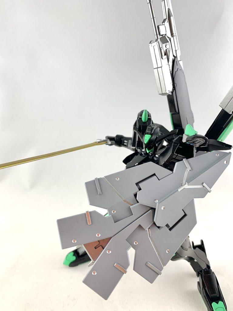 ASW-G-01/E ガンダムバエル・エラー 制作工程1