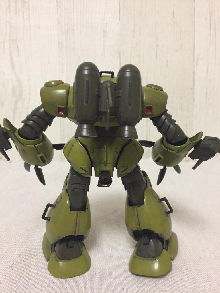 ズゴックE(緑) アピールショット4