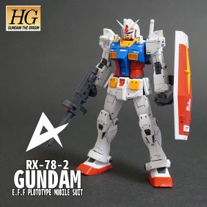 HG ORIGIN RX-78-02 ガンダム 後期型