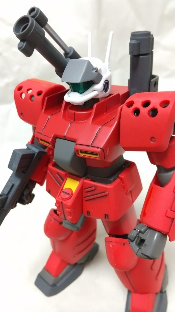 RX-77D GUNCANNON MASS PRODUCTION TYPE アピールショット1
