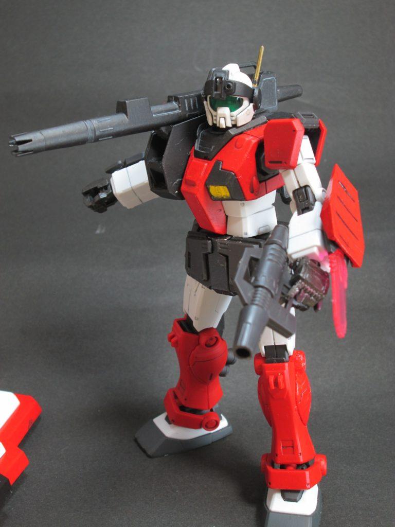 1/144 HG ジムガードカスタム キャノン砲装備型? アピールショット1