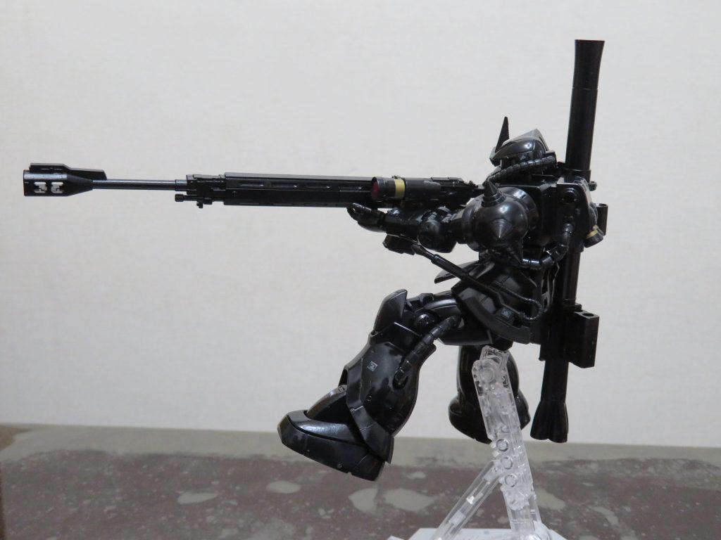 HG_黒髪のシャア専用ザクⅡ MARO17 × ガンダムコラボキャンペーン限定 アピールショット1