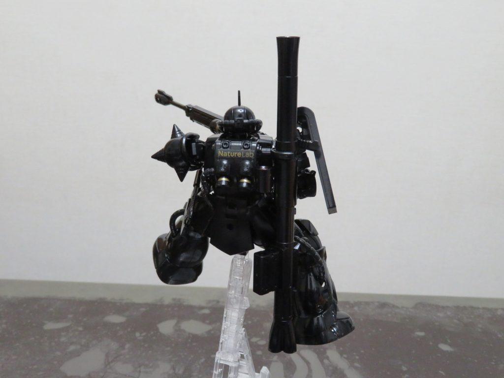 HG_黒髪のシャア専用ザクⅡ MARO17 × ガンダムコラボキャンペーン限定 アピールショット2