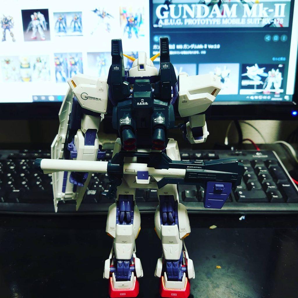 ガンダム MK-Ⅱ アピールショット1