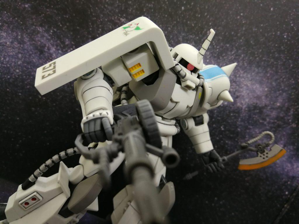 シン・マツナガ専用ザクⅡ
